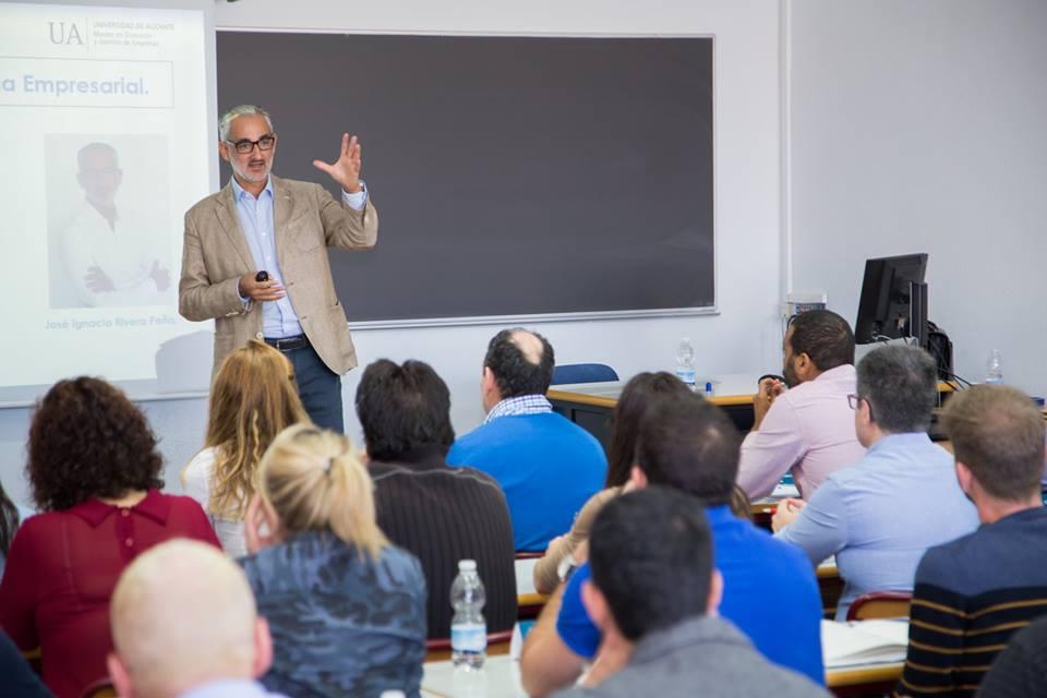 José Ignacio Rivera, plan estratégico máster dirección y gestión de empresas Universidad de Alicante