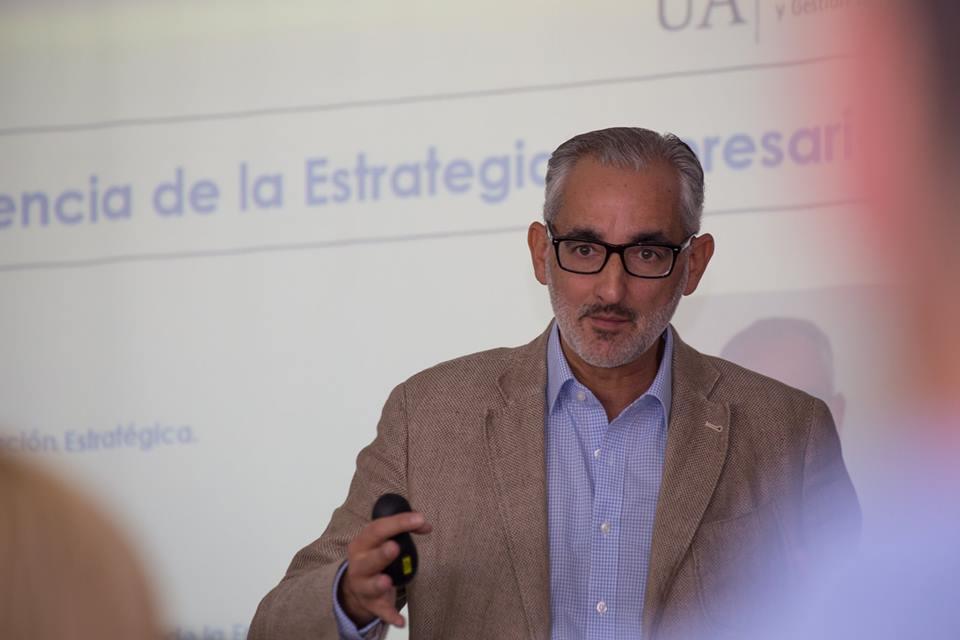 José Ignacio Rivera Máster Empresas Universidad Alicante Plan estratégico