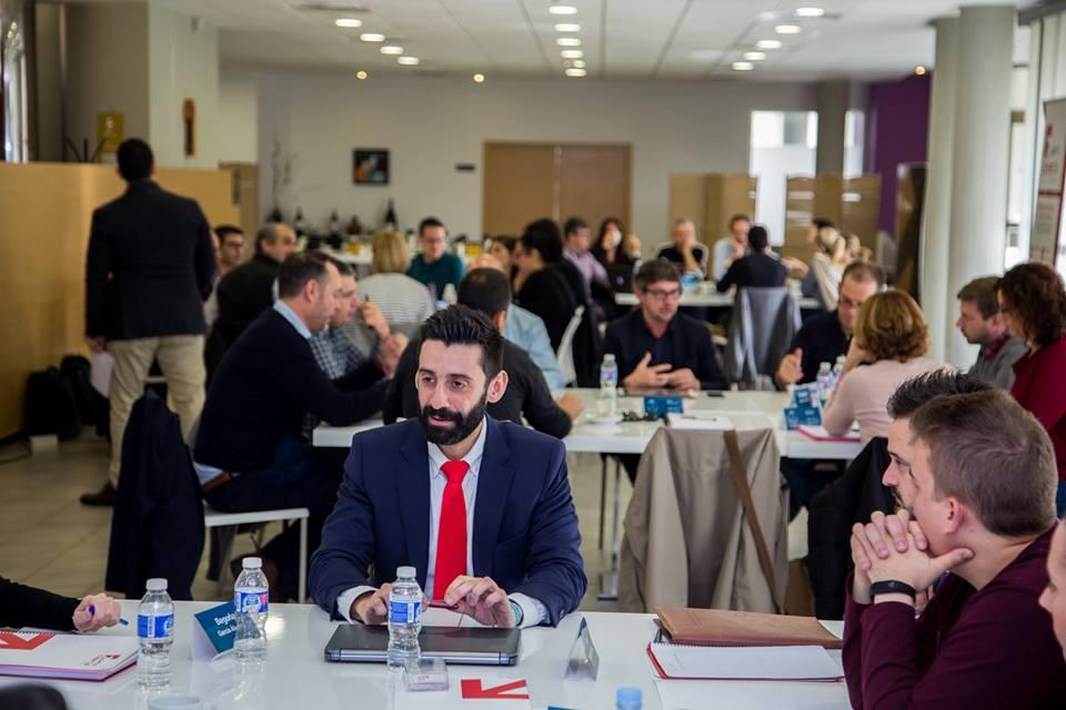 Speed networking Fuerza Comercial Máster Dirección y Gestión de Empresas Universidad de Alicante