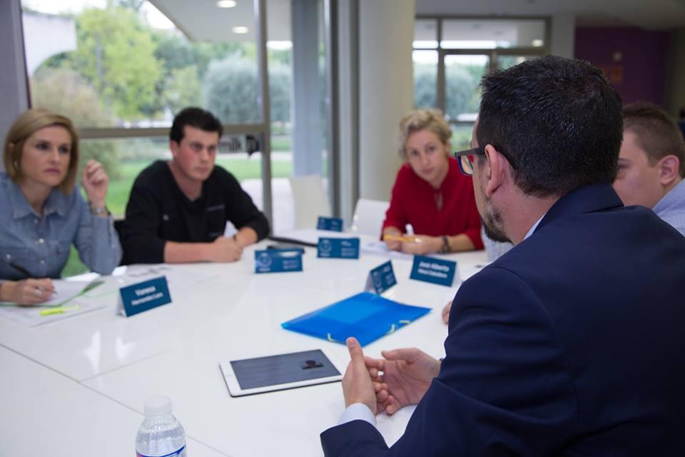Speed Networking Dirección Financiera Máster Dirección y Gestión de Empresas UA
