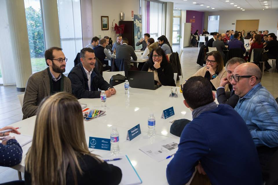 Speed networking internacionalizacion master empresa Universidad Alicante