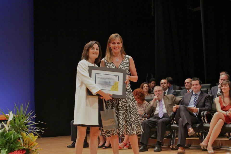 Premios Empresa Universidad 2012 Natalia Caballé Hoteles Servigroup