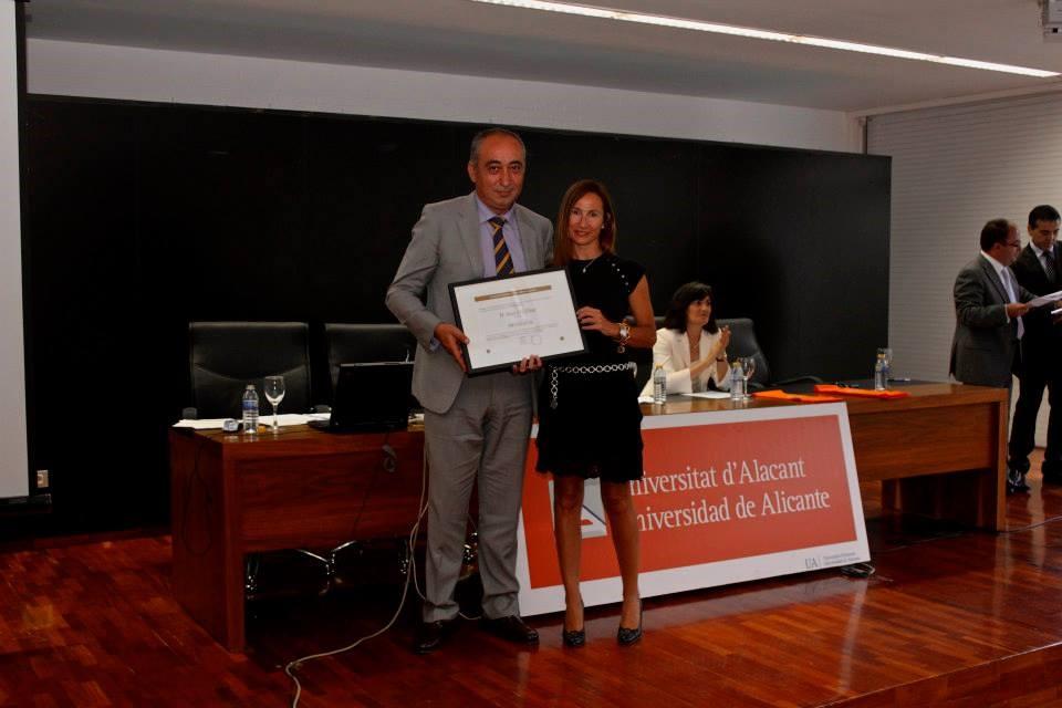 Premios empresa universidad 2013 Jose Gil Prosegur