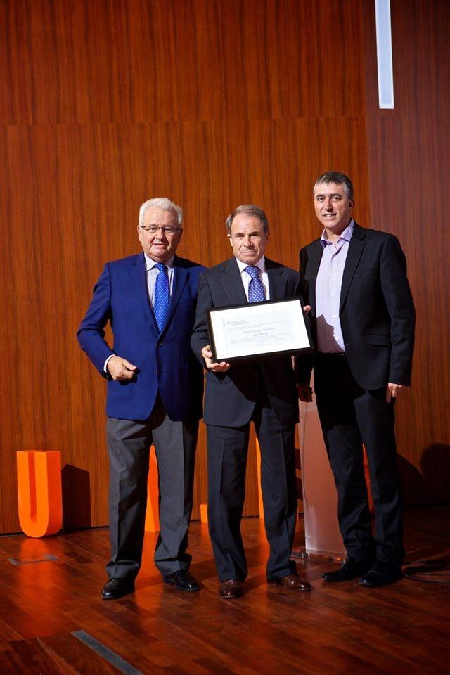 Premios empresa universidad 2015 Guglielmo Cecchin Teleco
