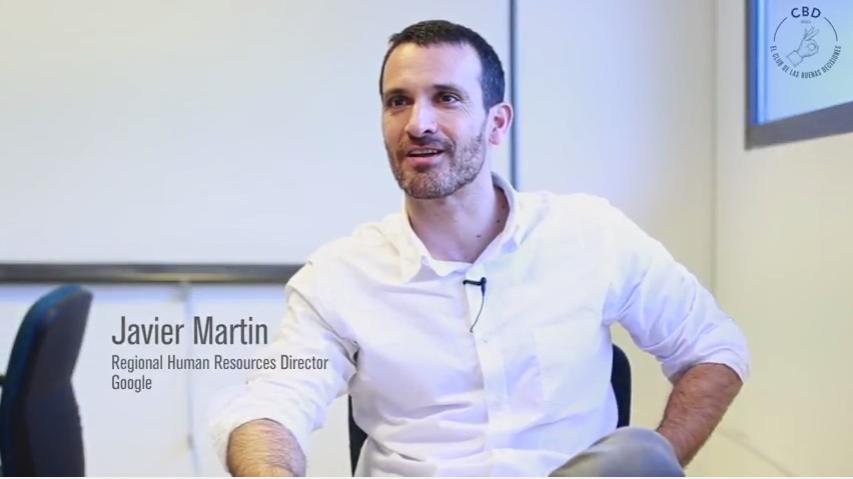 javier martin director recursos humanos google españa