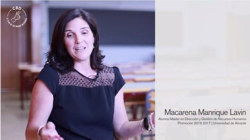 macarena manrique alumno master direccion y gestion de recursos humanos universidad de alicante