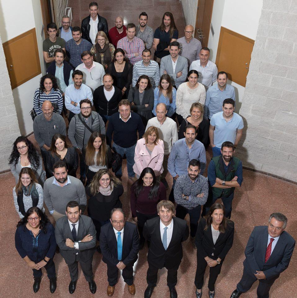 foto de grupo master empresas universidad de alicante mde