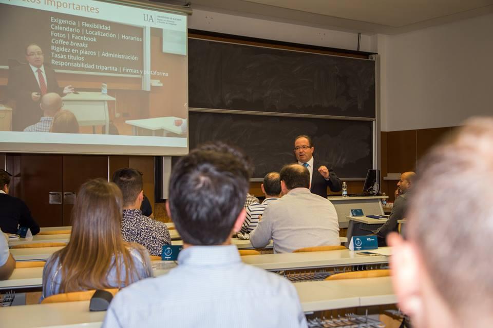 José Luis Gascó director del master en direccion y gestion de empresas universidad de alicante