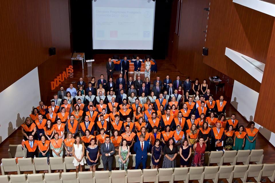 clausura 2018 master direccion y gestion de empresas recursos humanos y programa superior de gestion universidad de alicante foto final