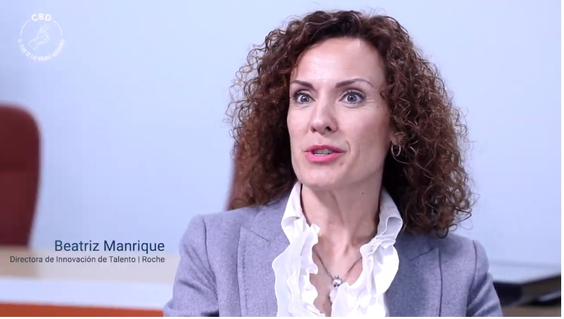 beatriz manrique directora de innovacion de talento en roche club de las buenas decisiones CBD Universidad de Alicante